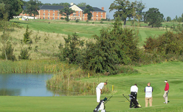 Whittlebury Hall golf